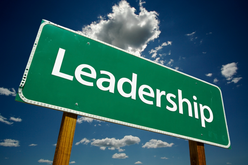 Leadership Road Sign