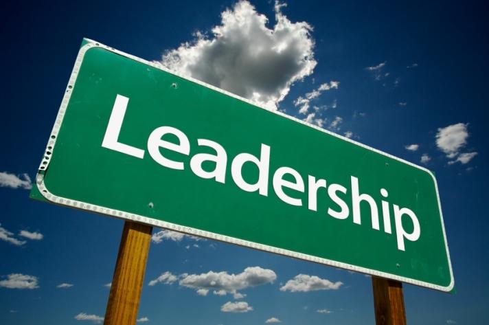Leadership Road Sign